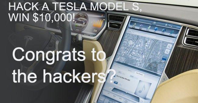 Tesla hacking contest