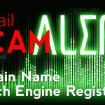 domain name search engine registration scam