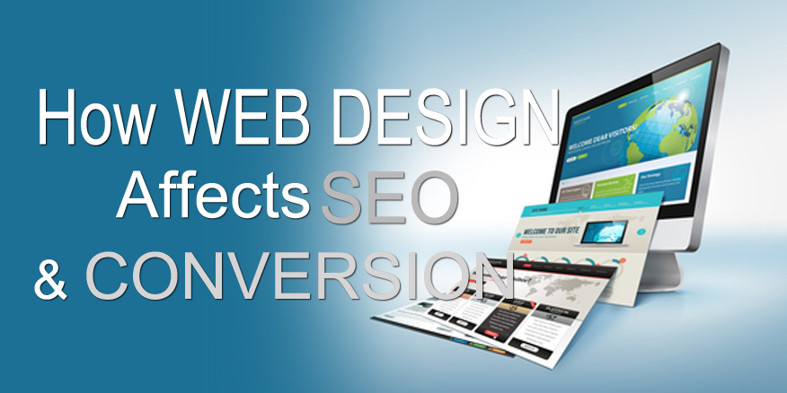 web design affects seo and conversion