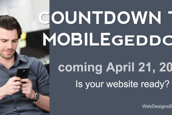 Google's mobile-friendly algorithm coming April 21