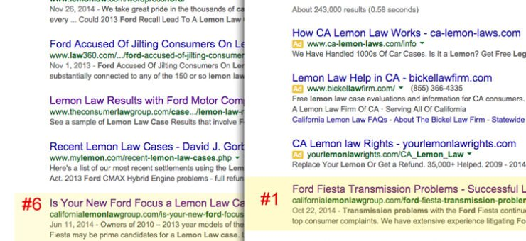Ford Transmission Problems and Organic SEO