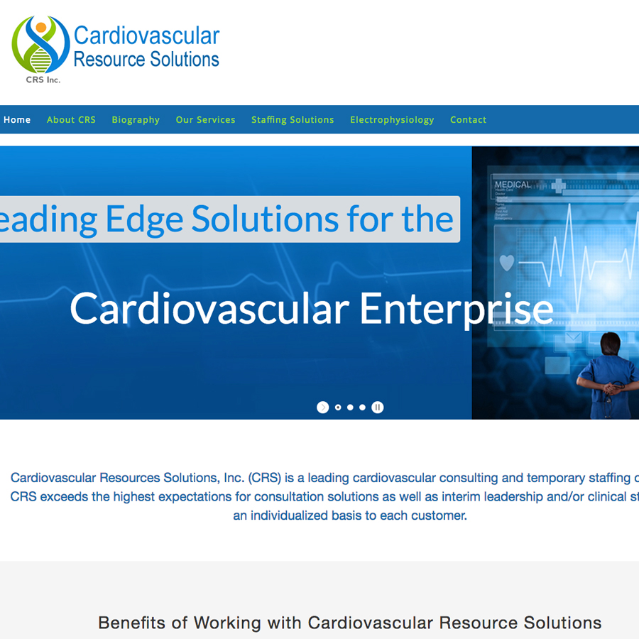 A cardiovascular consulting and temporary staffing company.