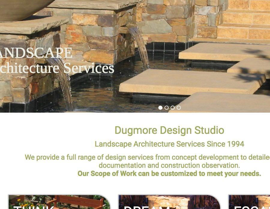 website for landscape designer