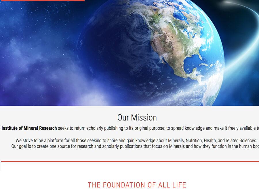 IOMR, mobile responsive WordPress site