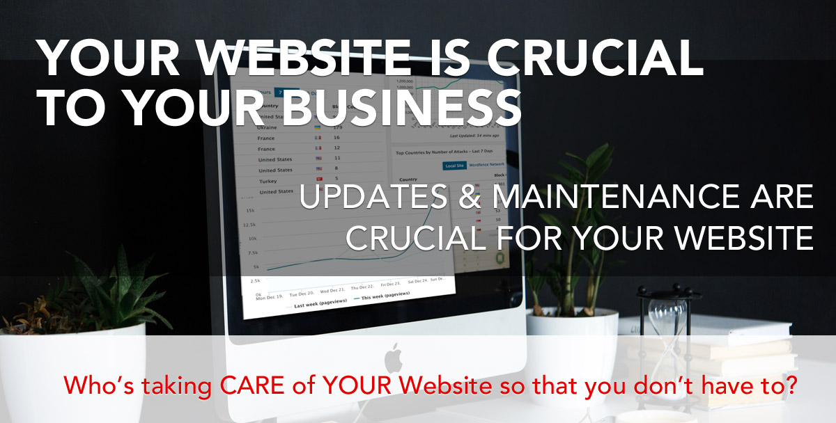 website maintenance plans, WordPress required updates, upgraded