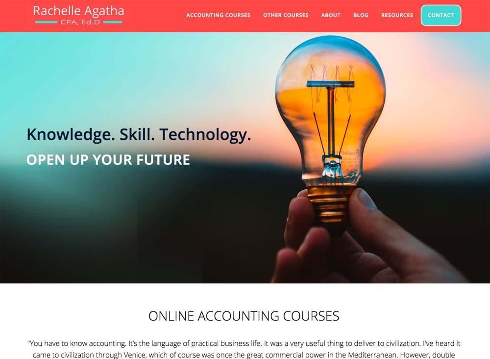 WordPress Website CPA, Online Courses
